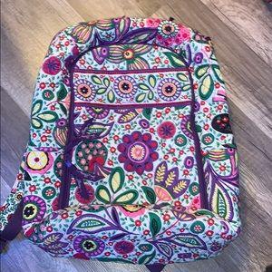 Vera Bradley Backpack with laptop sleeve
